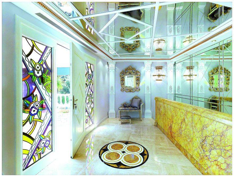Villa Dell Arte Style baroque